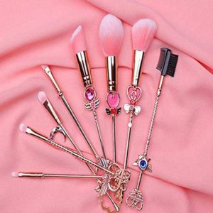 8 Pcs Sailor Moon Makeup Brushes Set