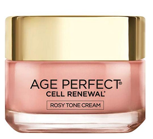 L'Oreal Paris, Age Perfect Cell Renewal Rosy Tone Face Moisturizer - Anti Aging Skin Care