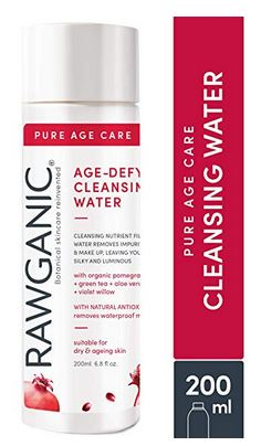 Rawganic Anti-aging Face Cleansing water for makeup removal